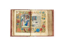 Ɵ Book of Hours, Use of Rome, in Latin, illuminated manuscript on parchment