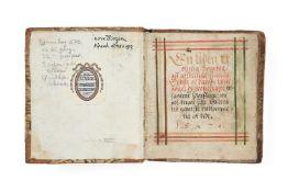 Ɵ The Prayerbook of Jørgen Quitzow, in Renaissance Danish and German