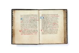 Ɵ Augustinian Monastic Book of Hours, Use of Rome, in Latin, decorated manuscript on parchment