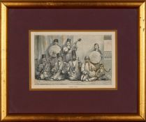 Persian Band, by W. Lawrence & co., engraving on paper [probably London, c. 1860]