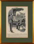 Bushmills Whiskey, advertisement depicting Prince Edward pouring a whiskey for Naser ad-Din Shah Qaj