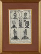 Portraits of Persian Kings, engravings and lithographs on paper [various places, 1840-1900]
