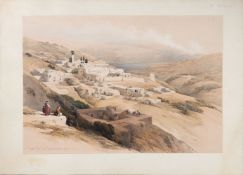 Ɵ After David Roberts, Collection of prints relating to Petra and the Holy Lands