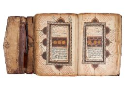 Ɵ A large Sub-Saharan Qur'an, copied by Rasul Muhammad Sali'Allah, in Arabic