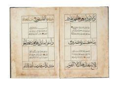 Ɵ A fine Mamluk Qur'anic Juz', containing text Ha'Mim (26), in Arabic