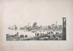 Ɵ L. Garreau, View of the Shore at Cazas in Lebanon, etching on paper [probably Amsterdam, c. 1790]