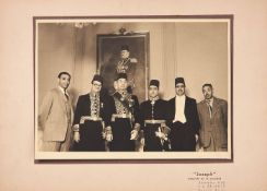 Ɵ Mme. Hassan Bey (Egyptian foreign minister) in Argentina, album of original photographs