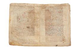 Boethius' commentary on Aristotle, Categoriae, and the same author's translation of Perihermenias