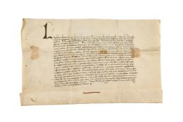 Charter issued by Landulphus, deacon of the church of San Nicholas at the Mamertine Prison in Rome