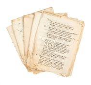 Collection of legal rulings, in Latin, manuscripts on paper [Italy, fifteenth century]