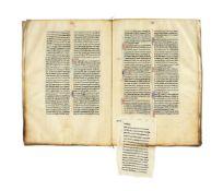 Ɵ Decretals of Gregory IX, or 'Liber Extra', with commentary of Raymond Peñafort