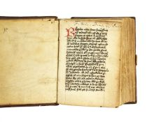 Ɵ Franciscan Rule, with associated texts, in Latin, decorated manuscript on paper
