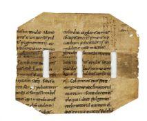 Compendium in Canticum Canticorum, in Latin, manuscript on parchment