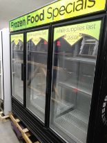"Lot 401 - TRUE 3 DOOR FREEZER (GDM-72F) (78""L X 30""D X 79""H)"