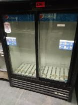 "Lot 426 - TRUE 2 DOOR BEVERAGE COOLER (GDM-41SL-60-LD) (47""W X 21""D X 60""H)"