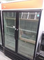"Lot 359 - MASTER-BILT 2 DOOR FREEZER (MBG-FP48-HG) (52"" W X 31"" D X 81"" H)"