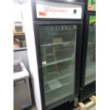 "Lot 384 - ABS SINGLE DOOR REFRIGERATOR (ABT-19-WAL1) (30""D X 30""W X 79""H)"
