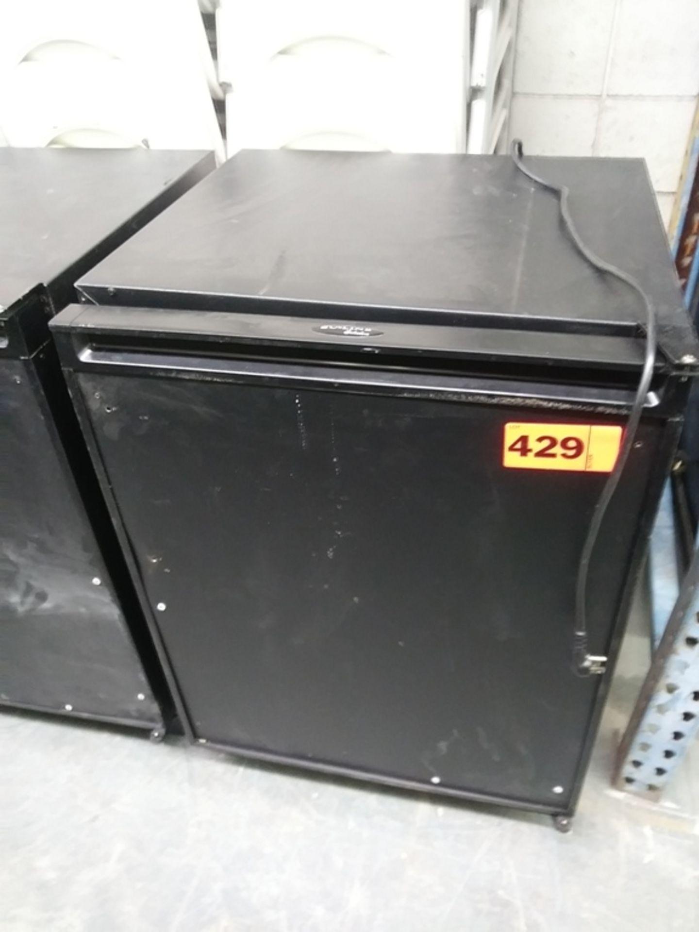 """Lot 429 - U-LINE MINI REFRIGERATOR W/ FREEZER (U-C02175FB-00) (23""""W X 24""""D X 34""""H)"""