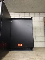 "Lot 396 - U-LINE MINI REFRIGERATOR W/ FREEZER (U-C02175FB-00) (23""W X 24""D X 34""H)"