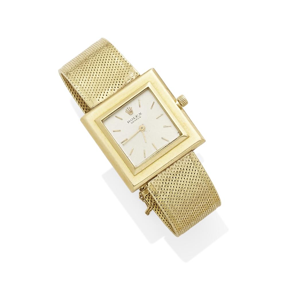 Lot 1 - A Gold Wristwatch, Rolex