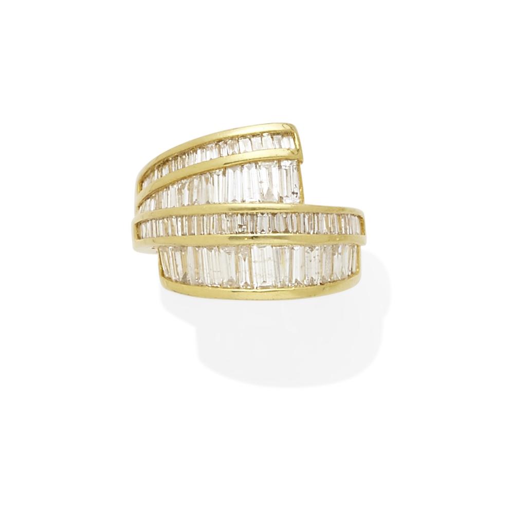 Lot 58 - A diamond ring