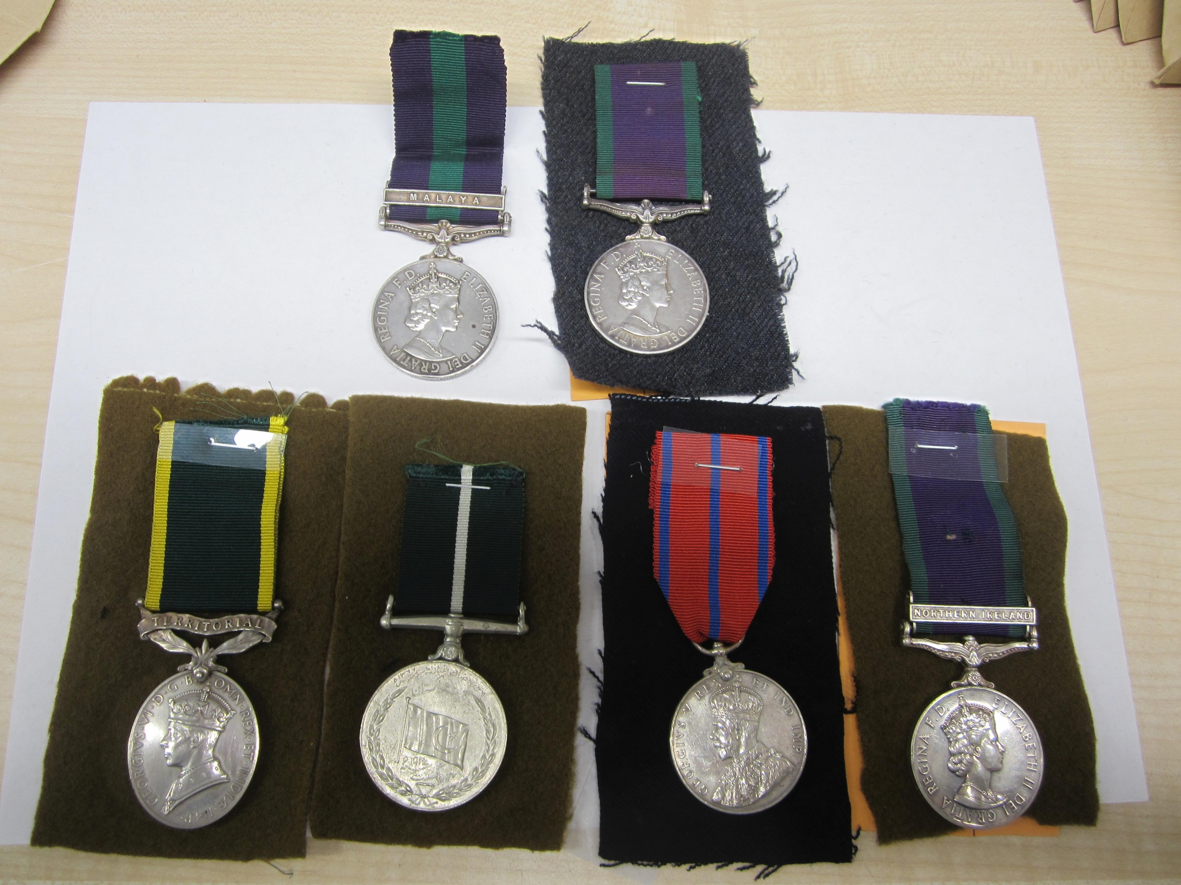 Lot 54 - General Service Medal 1918-1962,