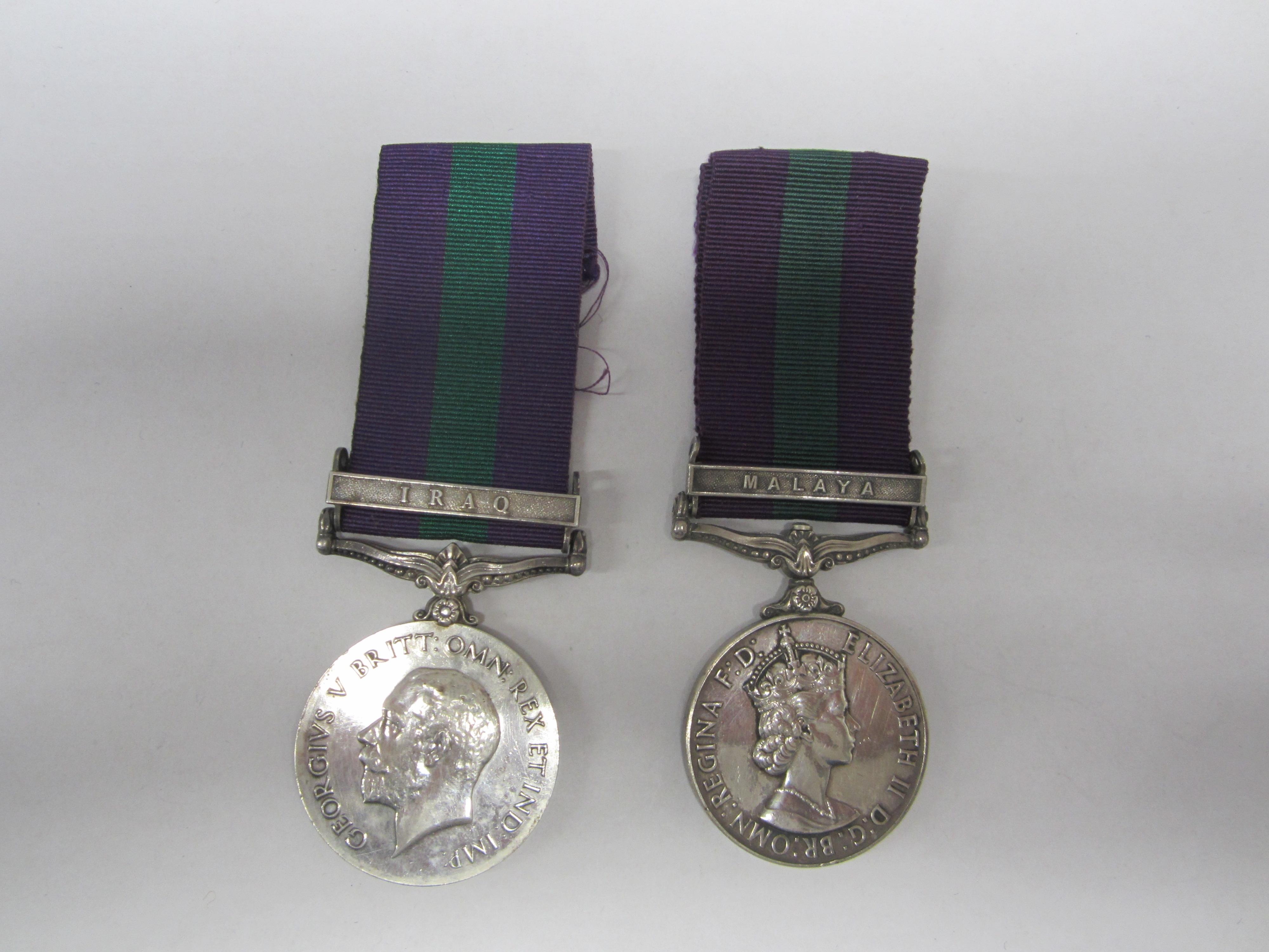 Lot 53 - General Service Medal 1918-62,