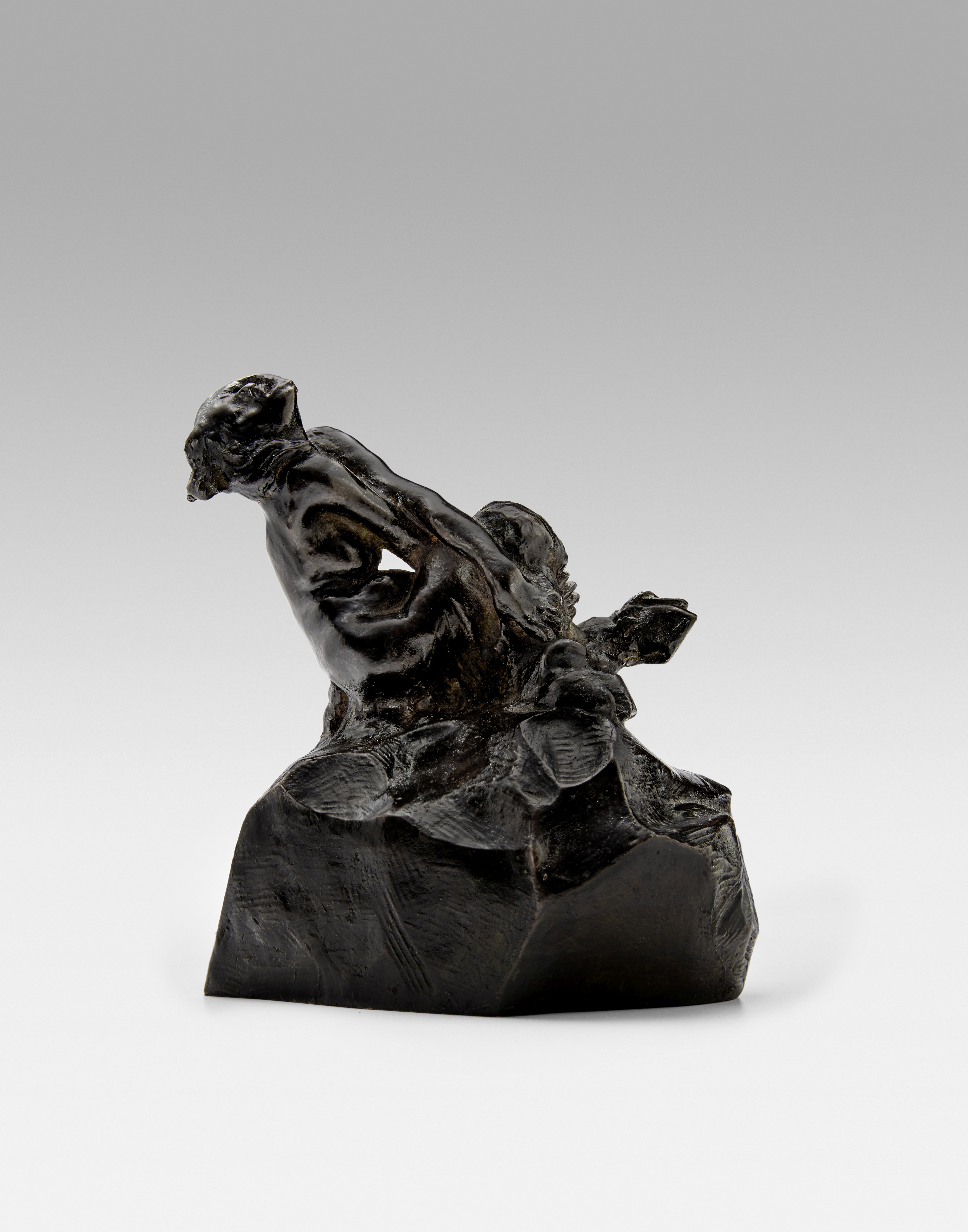 Lot 11 - AUGUSTE RODIN (1840-1917) Faunesse Zoubaloff 6 3/4 in (17.1 cm) (height) (Conceived in 1885 and c...