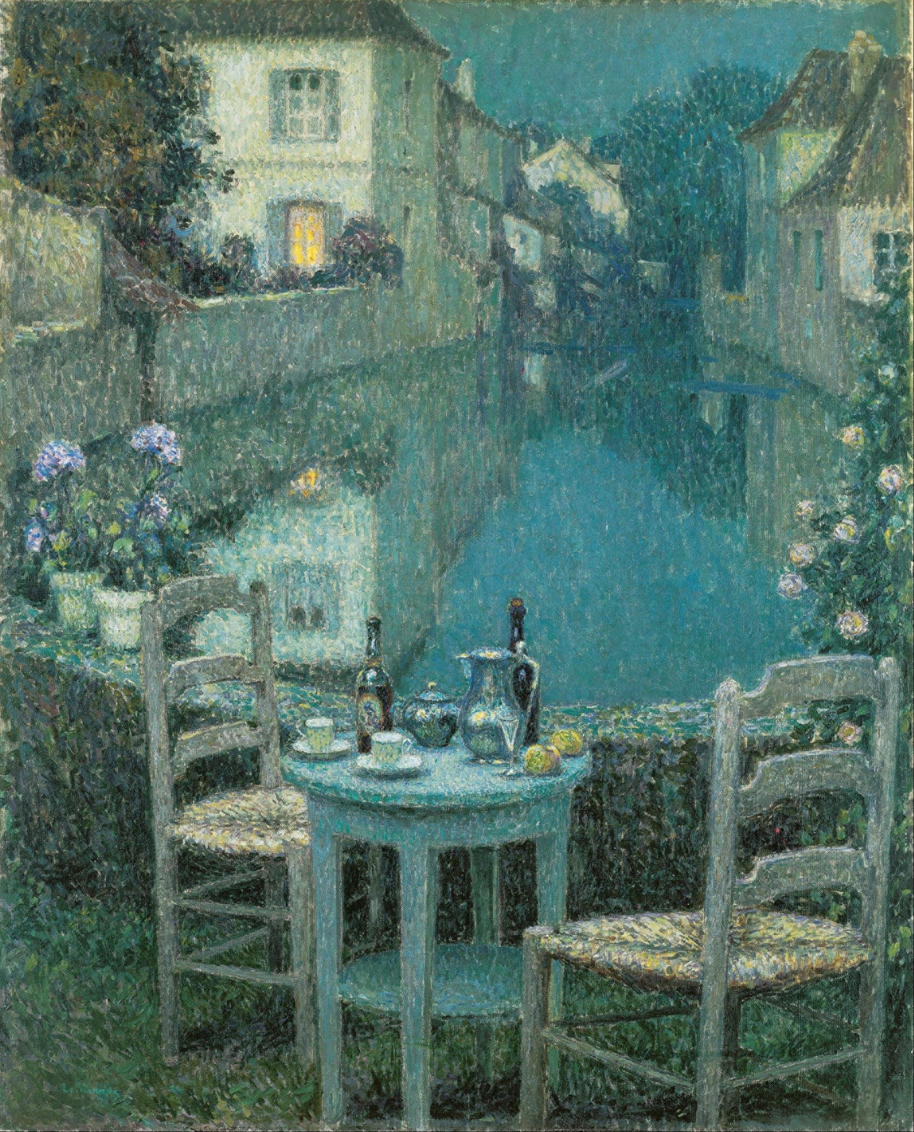 Lot 14 - HENRI LE SIDANER (1862-1939) Neige 59 x 49 in (150 x 125 cm) (Painted in 1924)