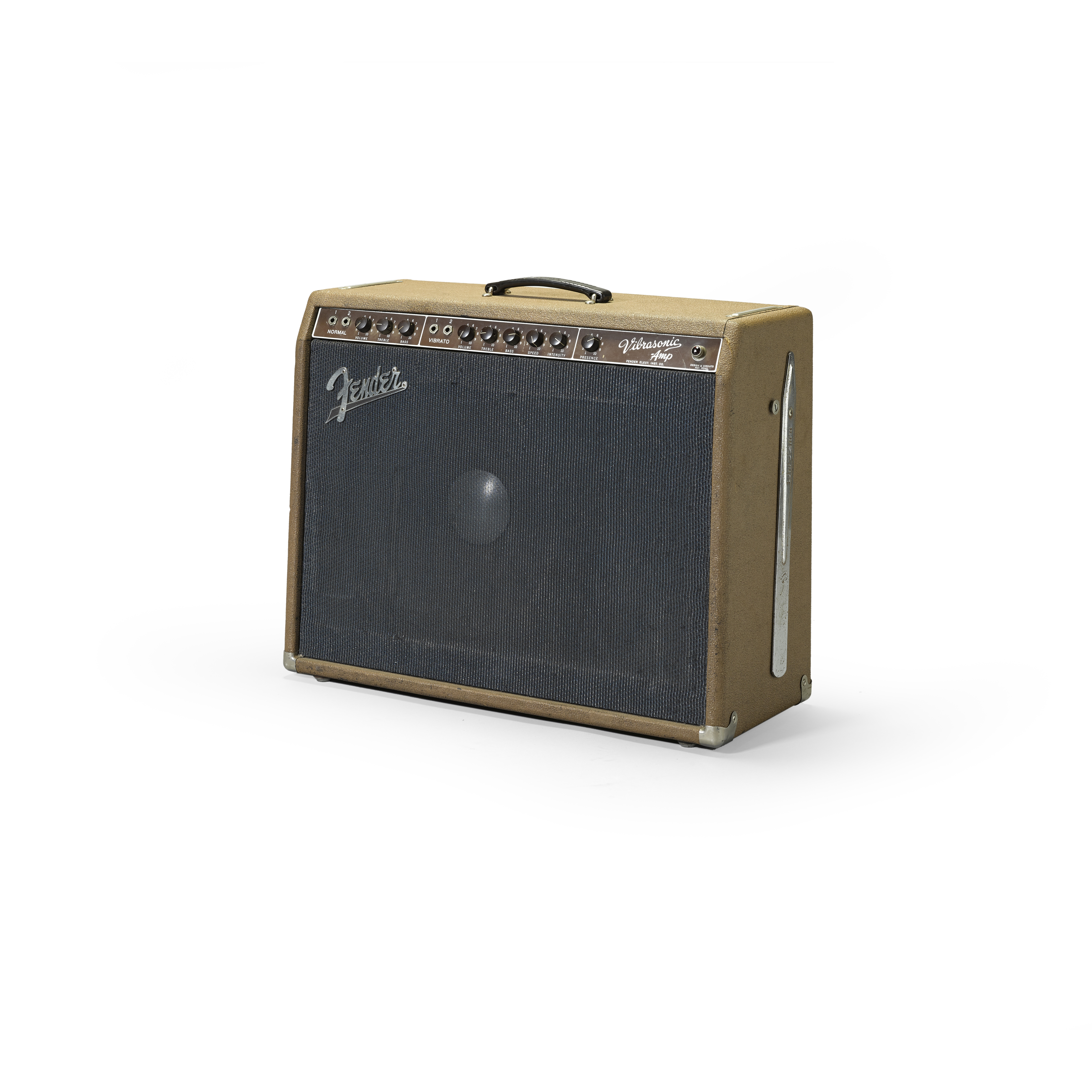 Lot 314 - A FENDER VIBRASONIC 6G13-A AMPLIFIER OWNED AND USED BY JERRY GARCIA