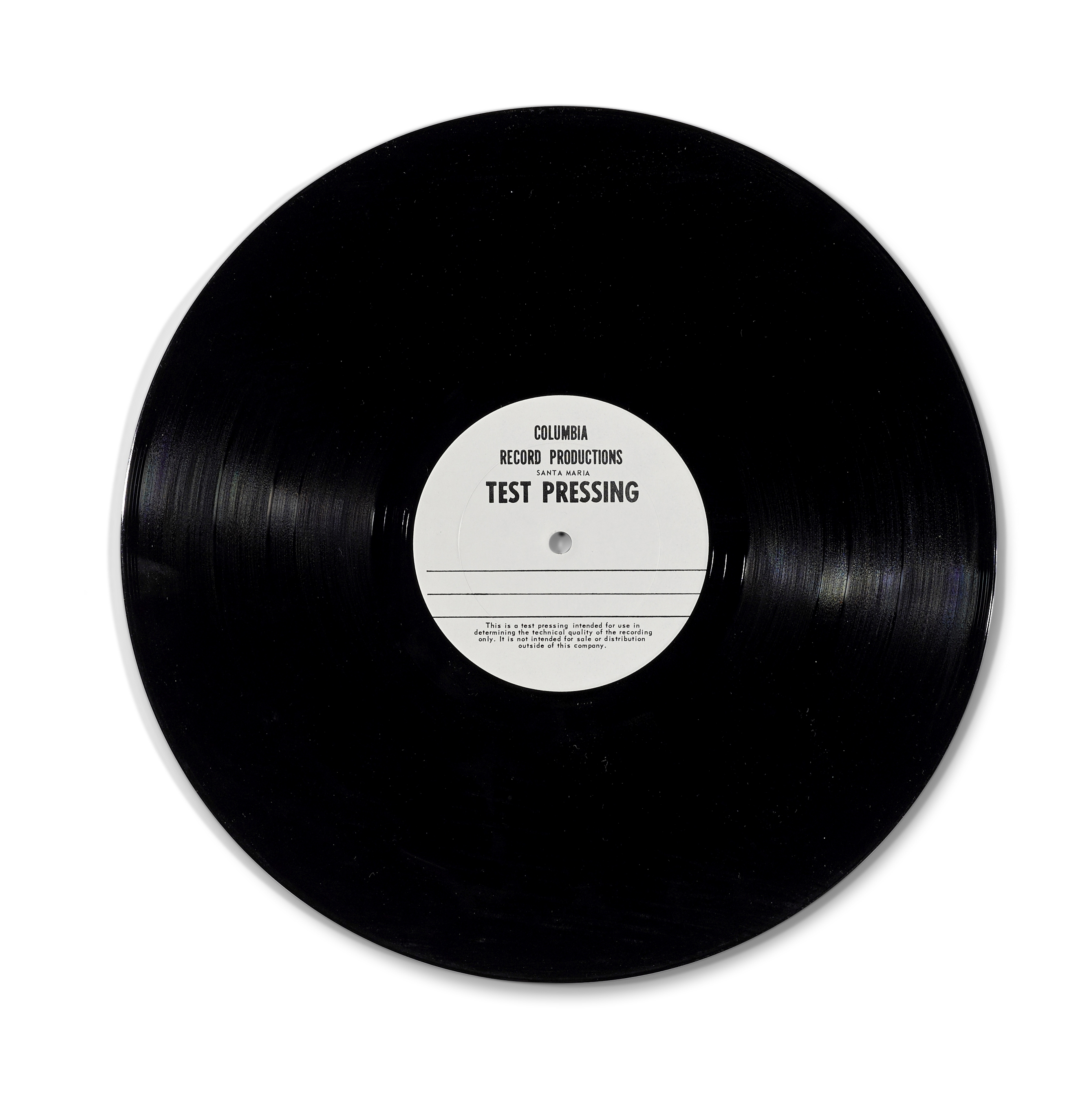 Lot 337 - A JERRY GARCIA BAND TEST PRESSING OF THE ALBUM CATS UNDER THE STARS 1978