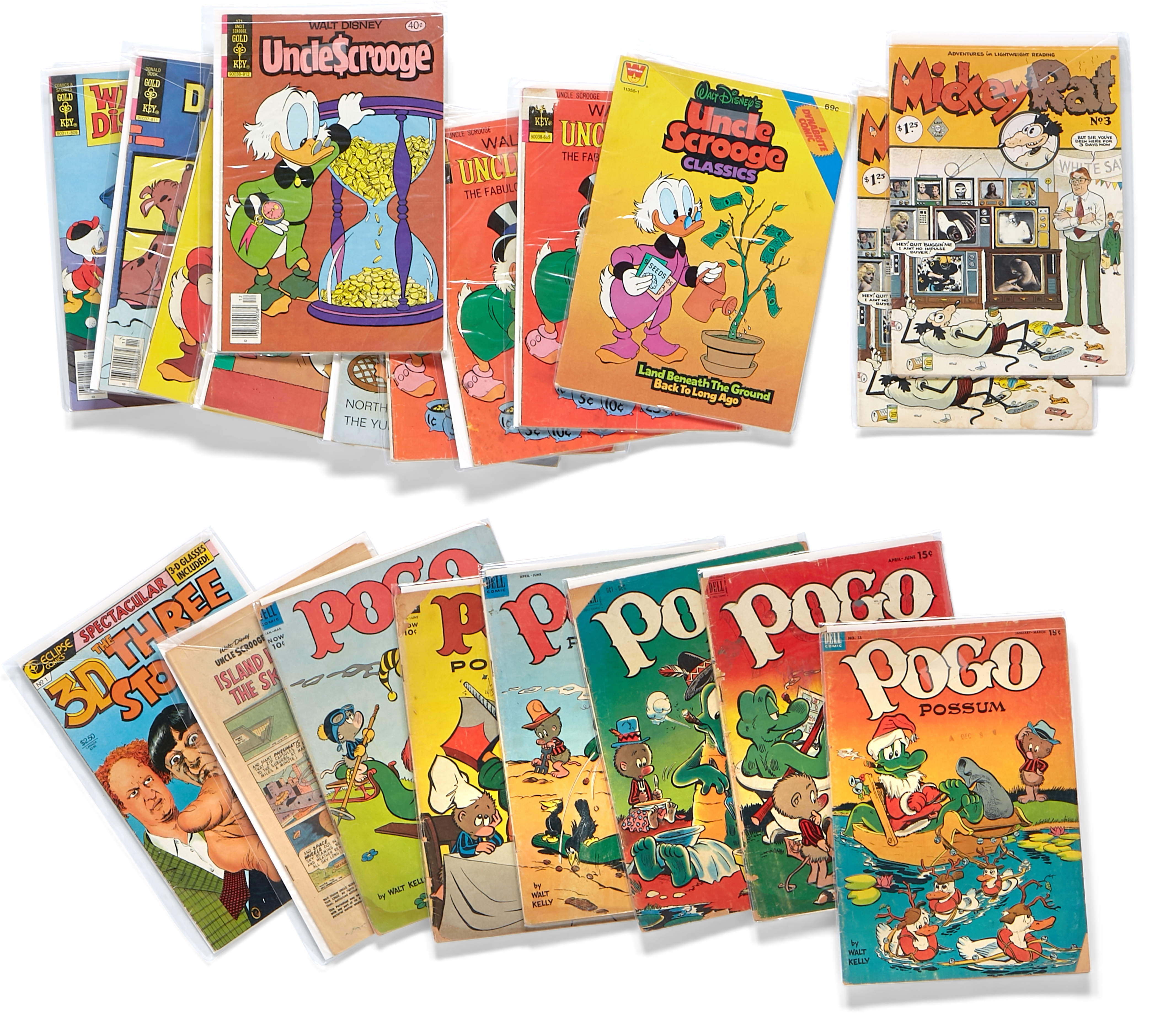 Lot 311 - A JERRY GARCIA GROUP OF 22 ASSORTED COMICS 1950s-1980s