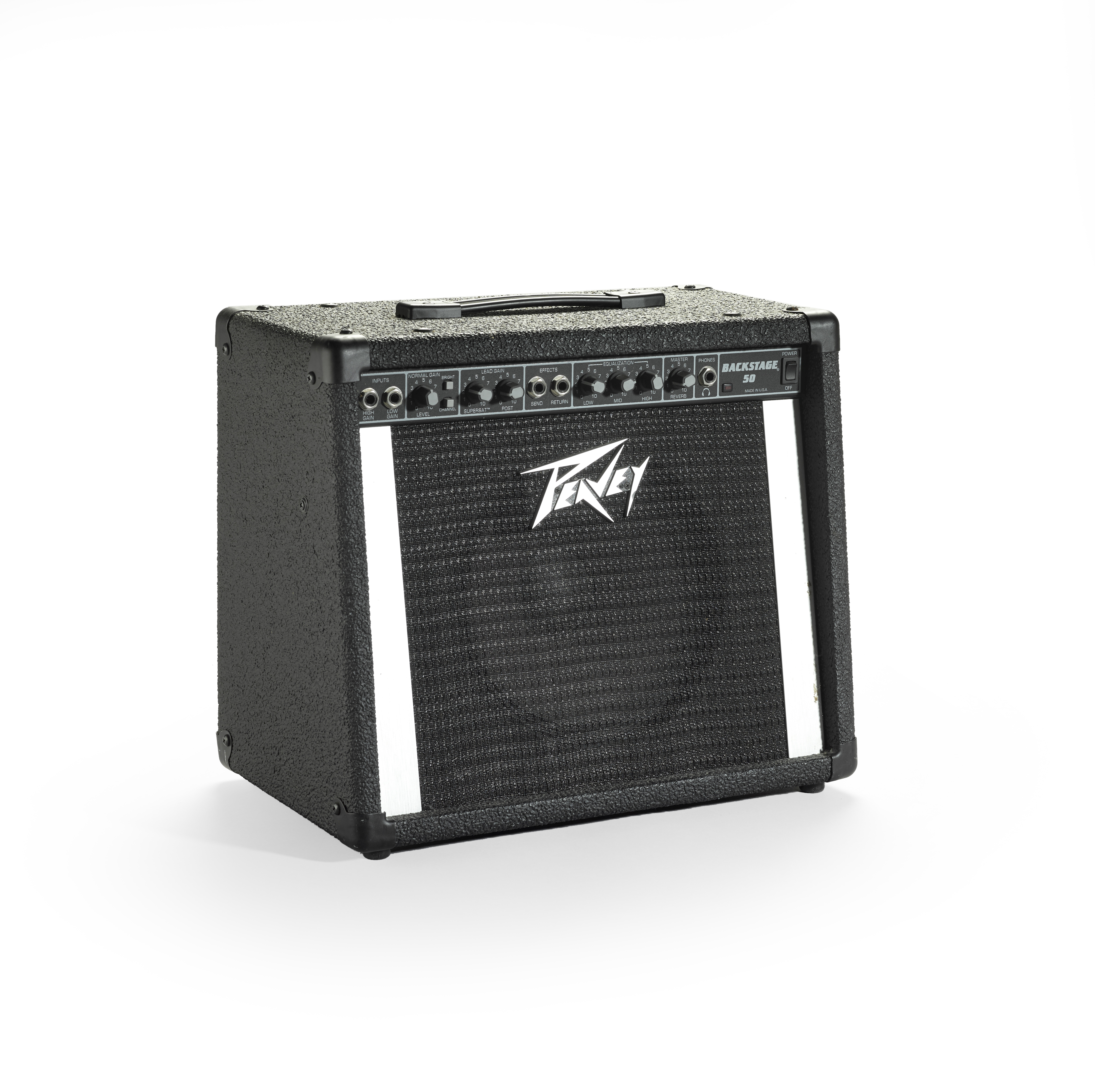 Lot 348 - A PEAVEY BACKSTAGE 50 AMPLIFIER OWNED AND USED BY JERRY GARCIA late 1980s