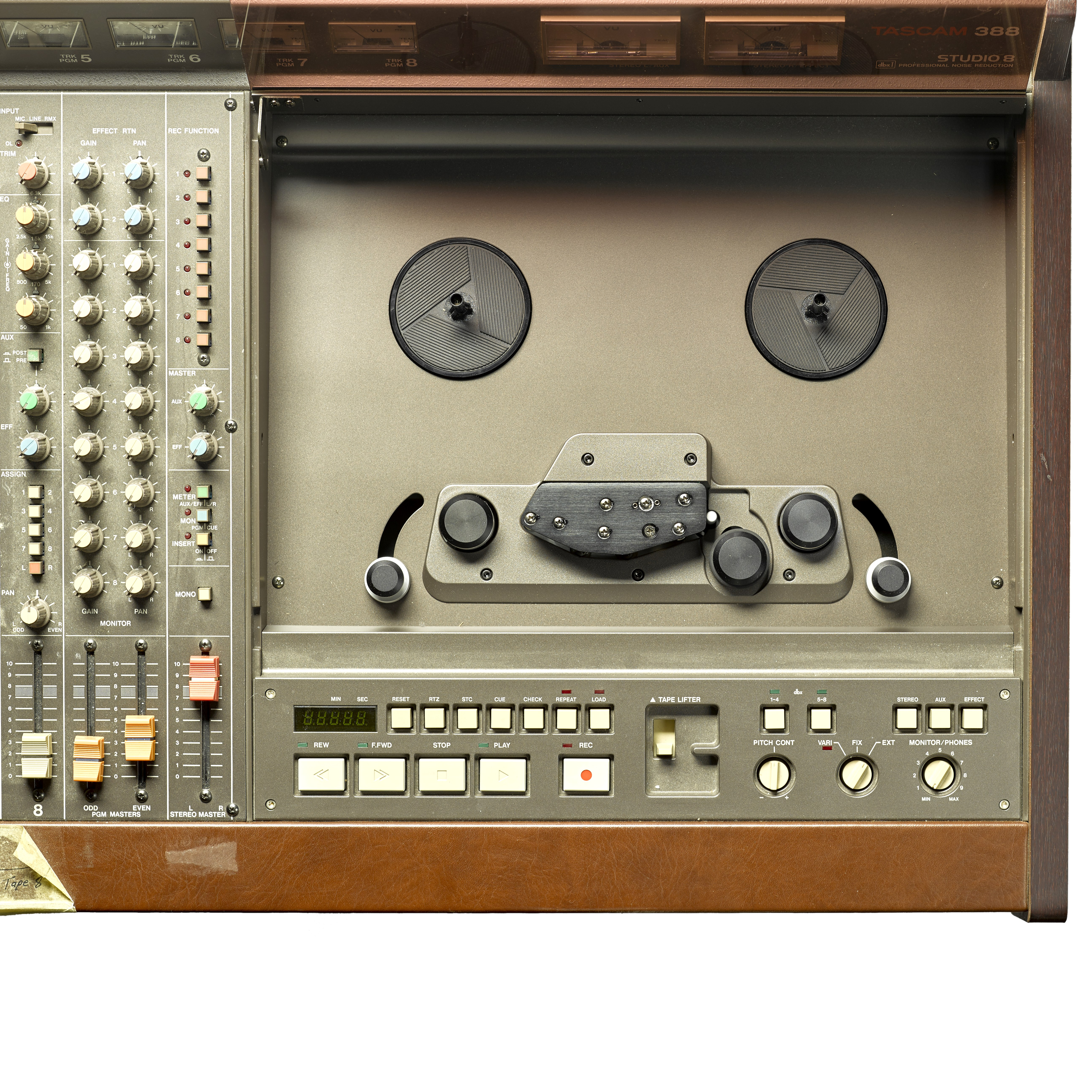 Lot 346 - A JERRY GARCIA TASCAM 388 STUDIO 8 1/4 INCH 8-TRACK TAPE RECORDER