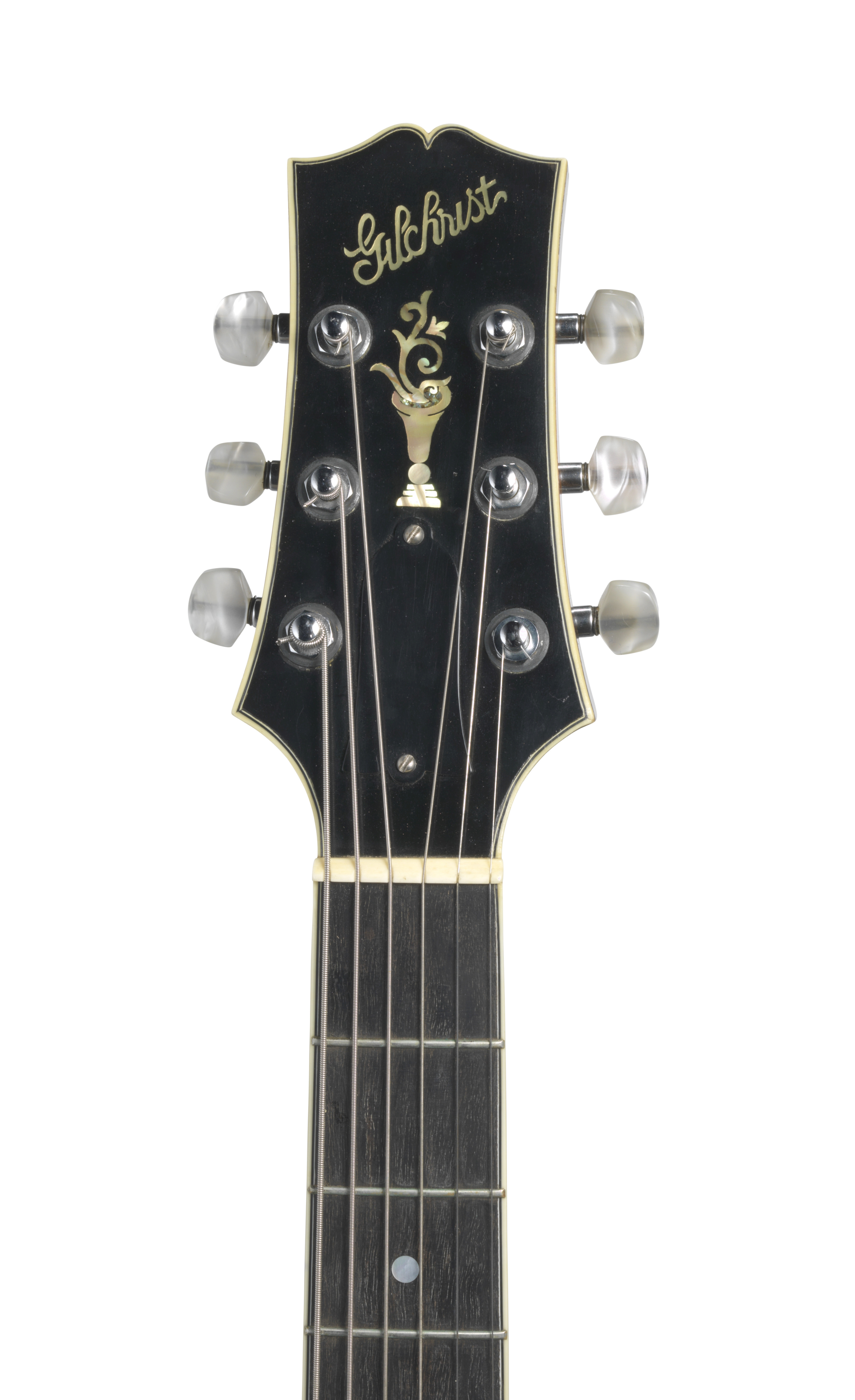 Lot 340 - A GILCHRIST L5 ARCHTOP ACOUSTIC GUITAR OWNED AND PLAYED BY JERRY GARCIA