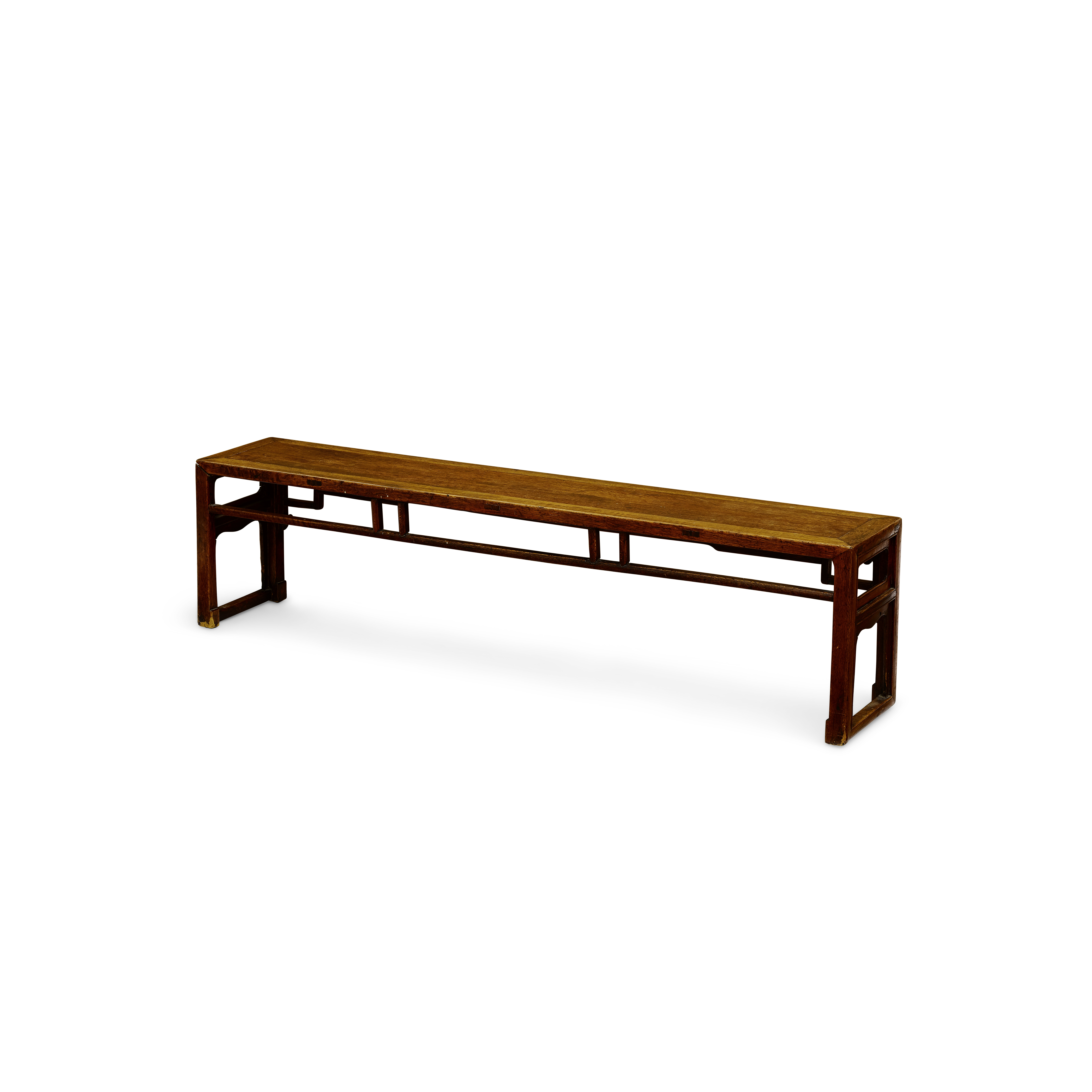 Lot 252 - A Chinese huali low bench Qing dynasty, 19th century