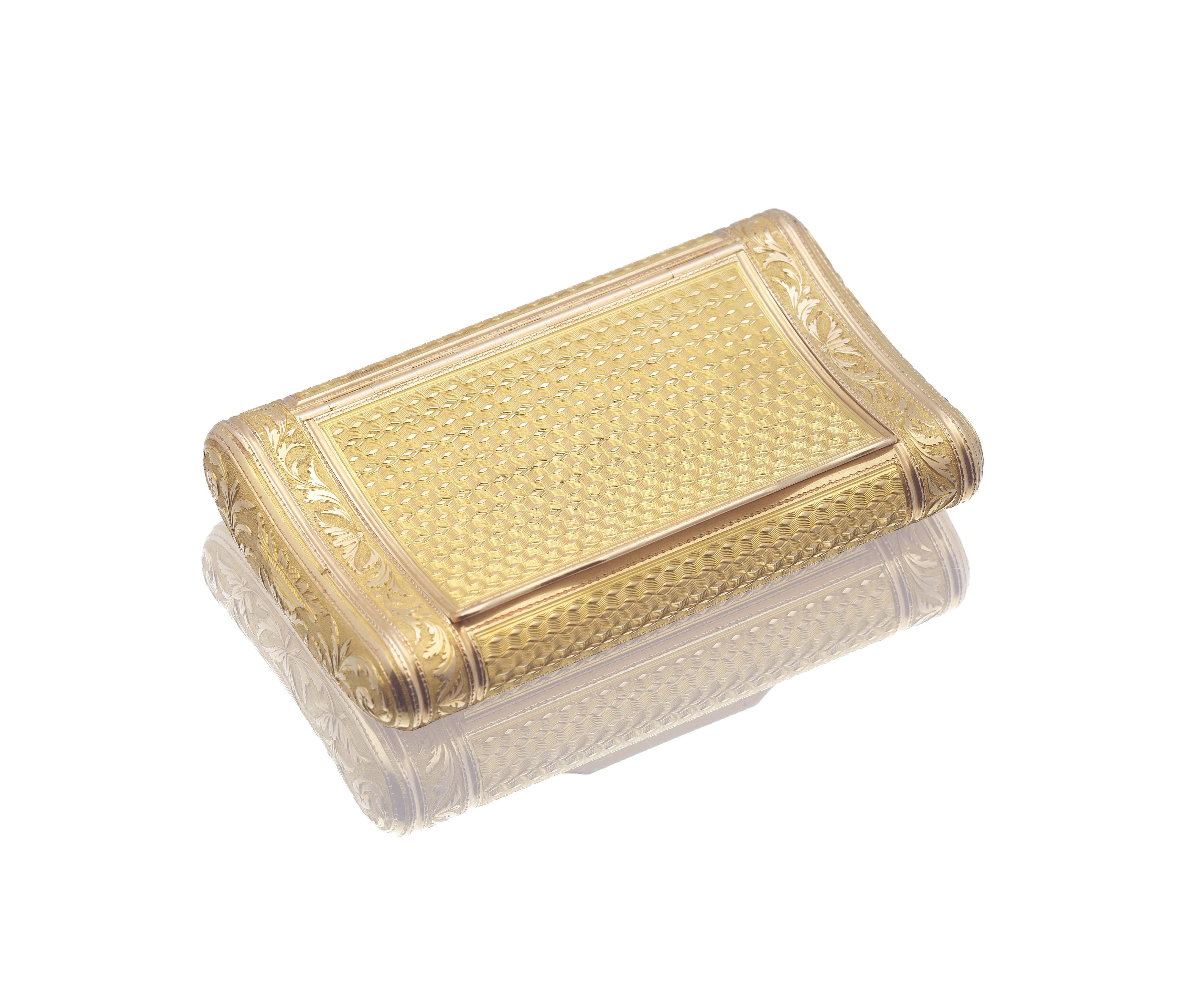 Lot 7 - An early 19th century French gold box Joseph-François Marcillac, with unofficial post-revolutiona...