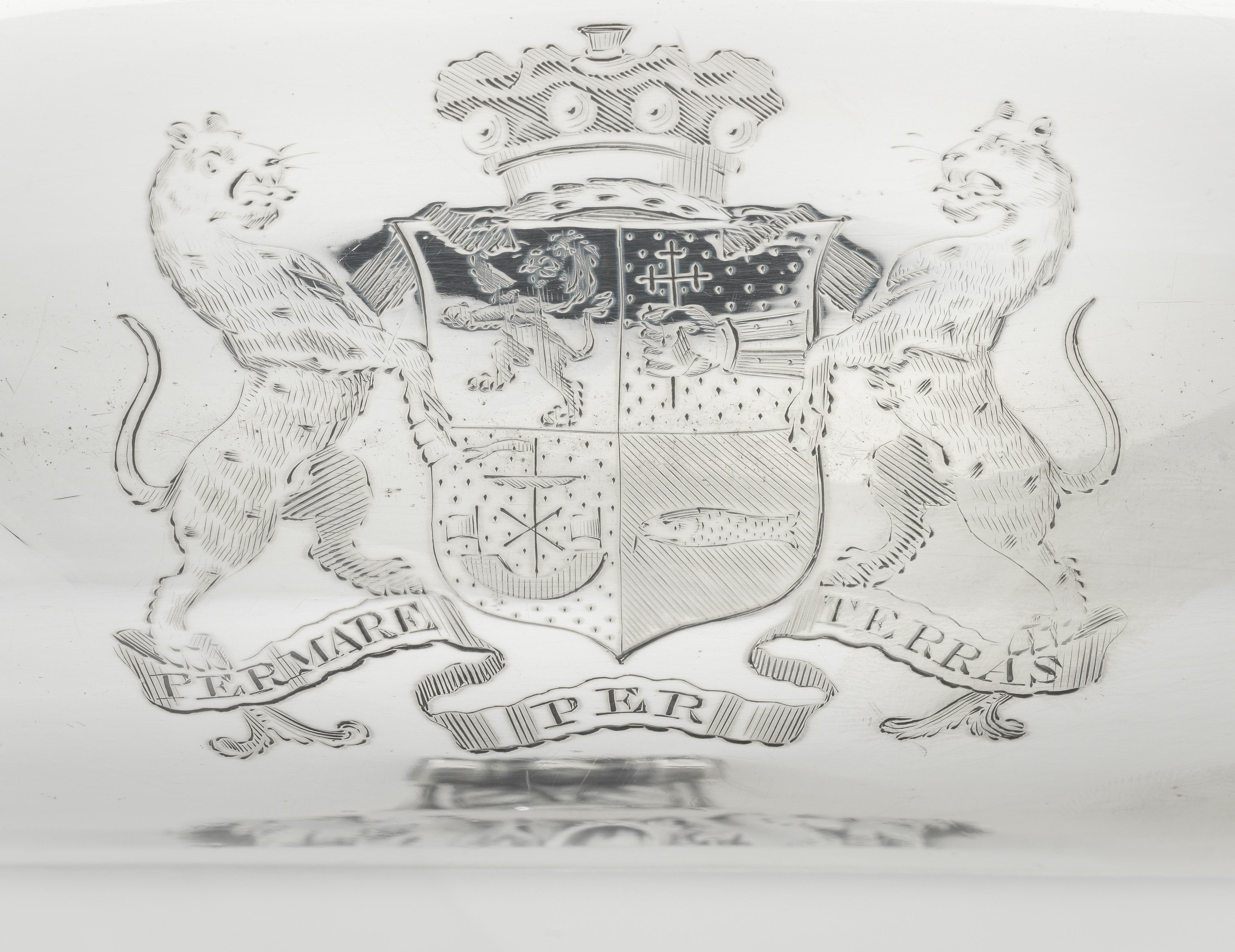 Lot 52 - A George III silver soup tureen Paul Storr, London 1803