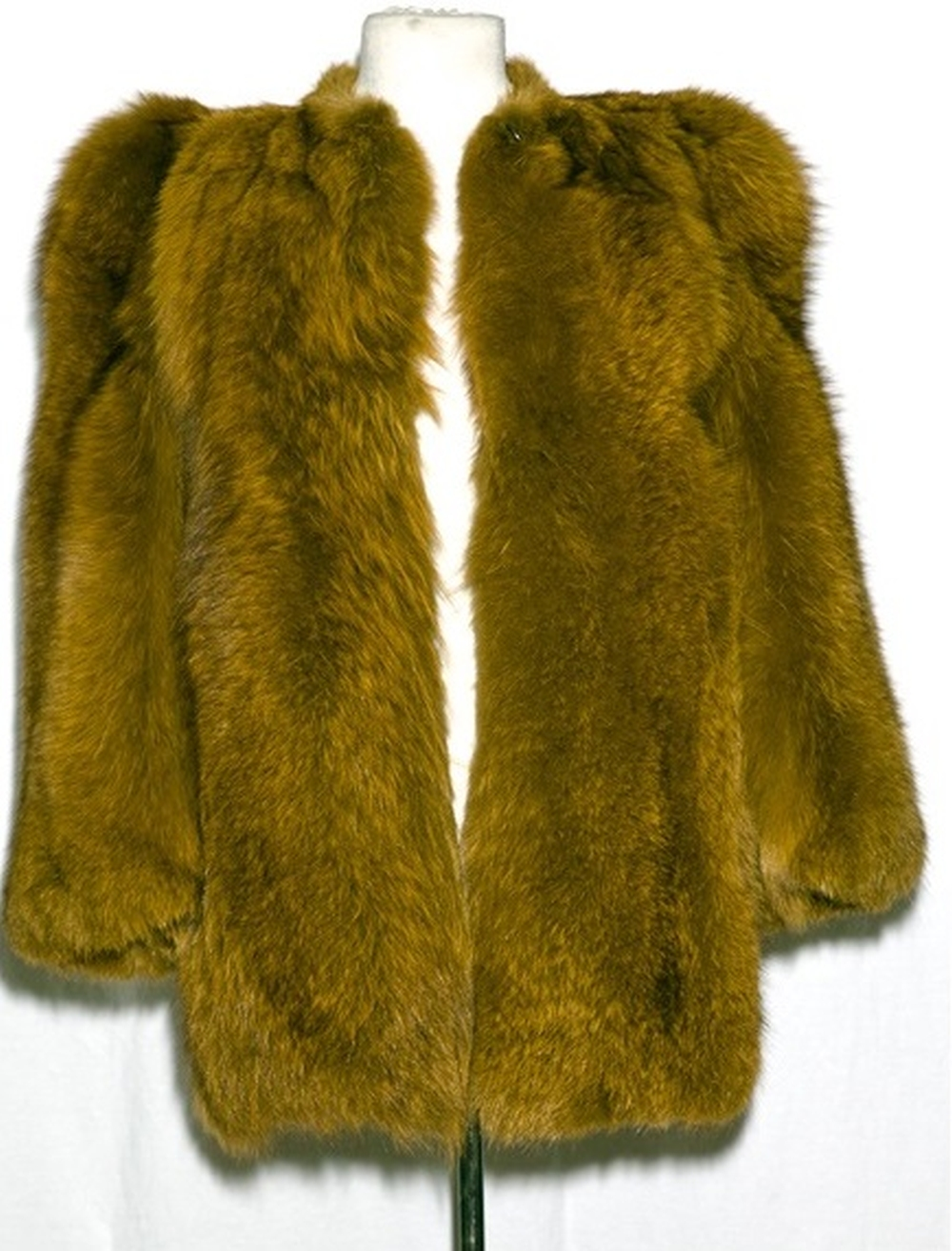 Lot 50 - A Vintage Yves Saint Laurent Coat Gifted By Elton John To Maxine Taupin