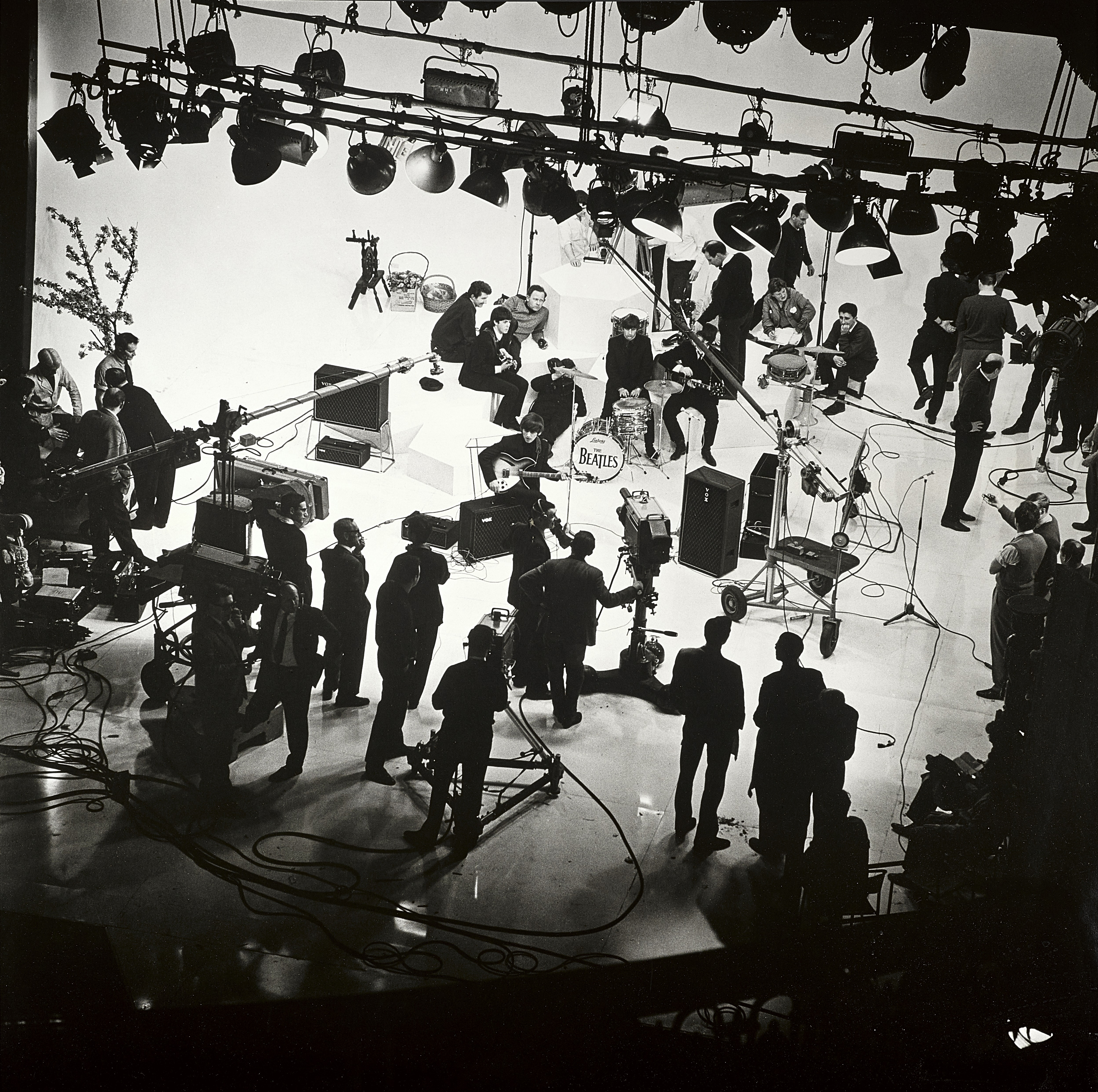 Lot 12 - A Photograph Of The Beatles At La Scala Theatre London On The Set Of A Hard Day's Night 1964