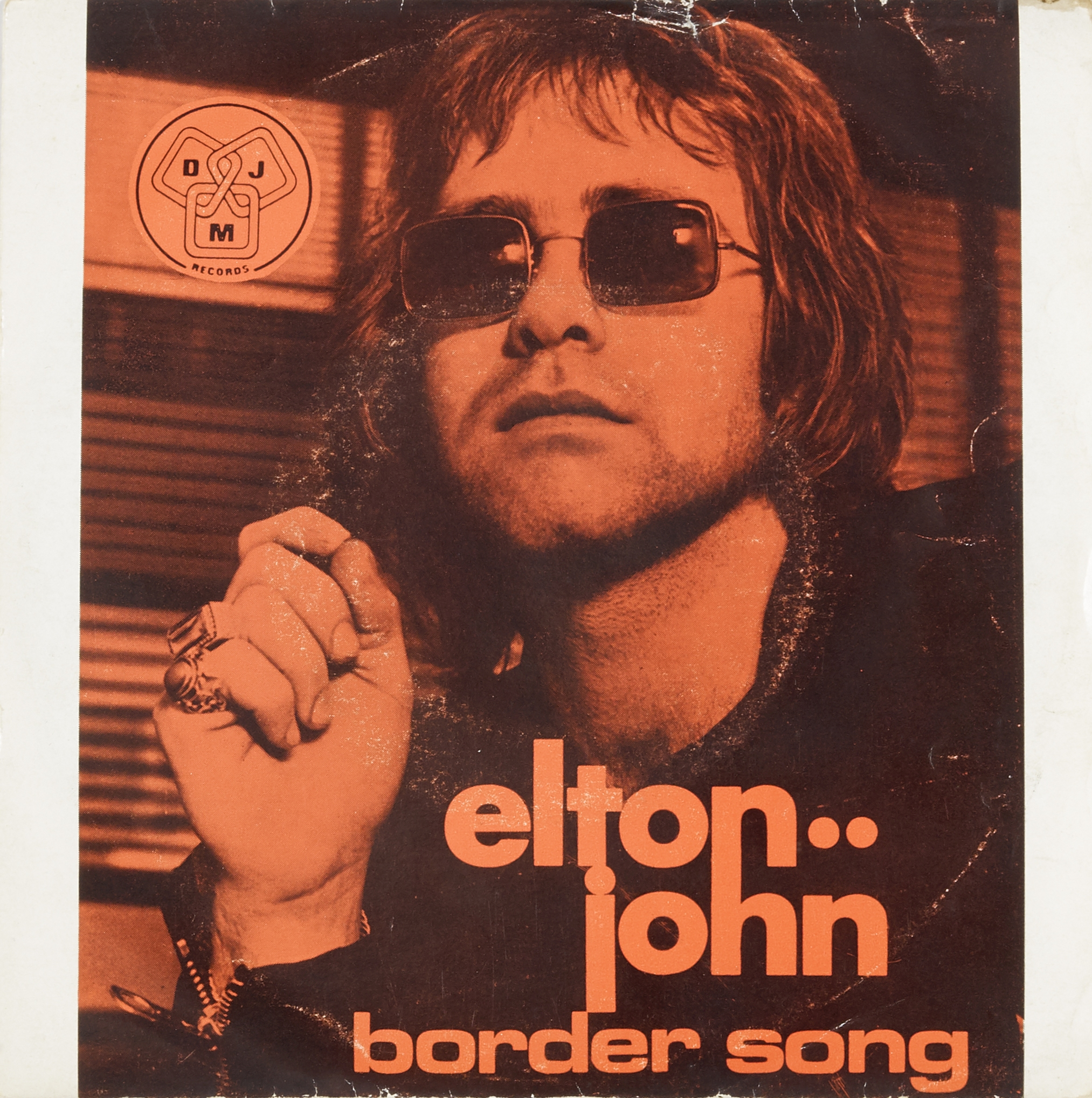 Lot 46 - Bernie Taupin's original lyrics to the early Elton John hit, 'The Border Song,' with annotations ...
