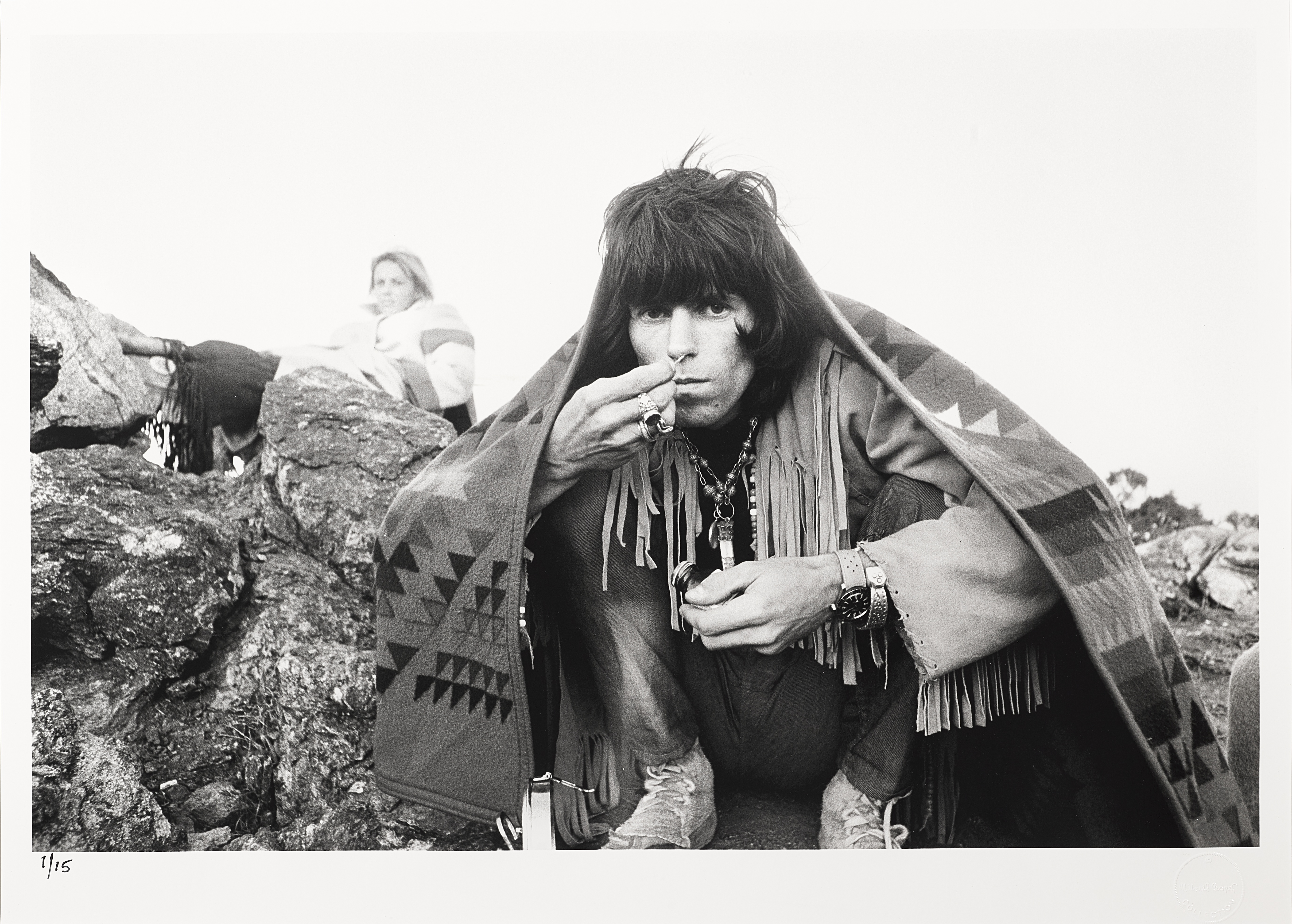 Lot 36 - A Limited Edition Photograph Of Keith Richards Taken At Joshua Tree, CA By Michael Cooper (Briti...