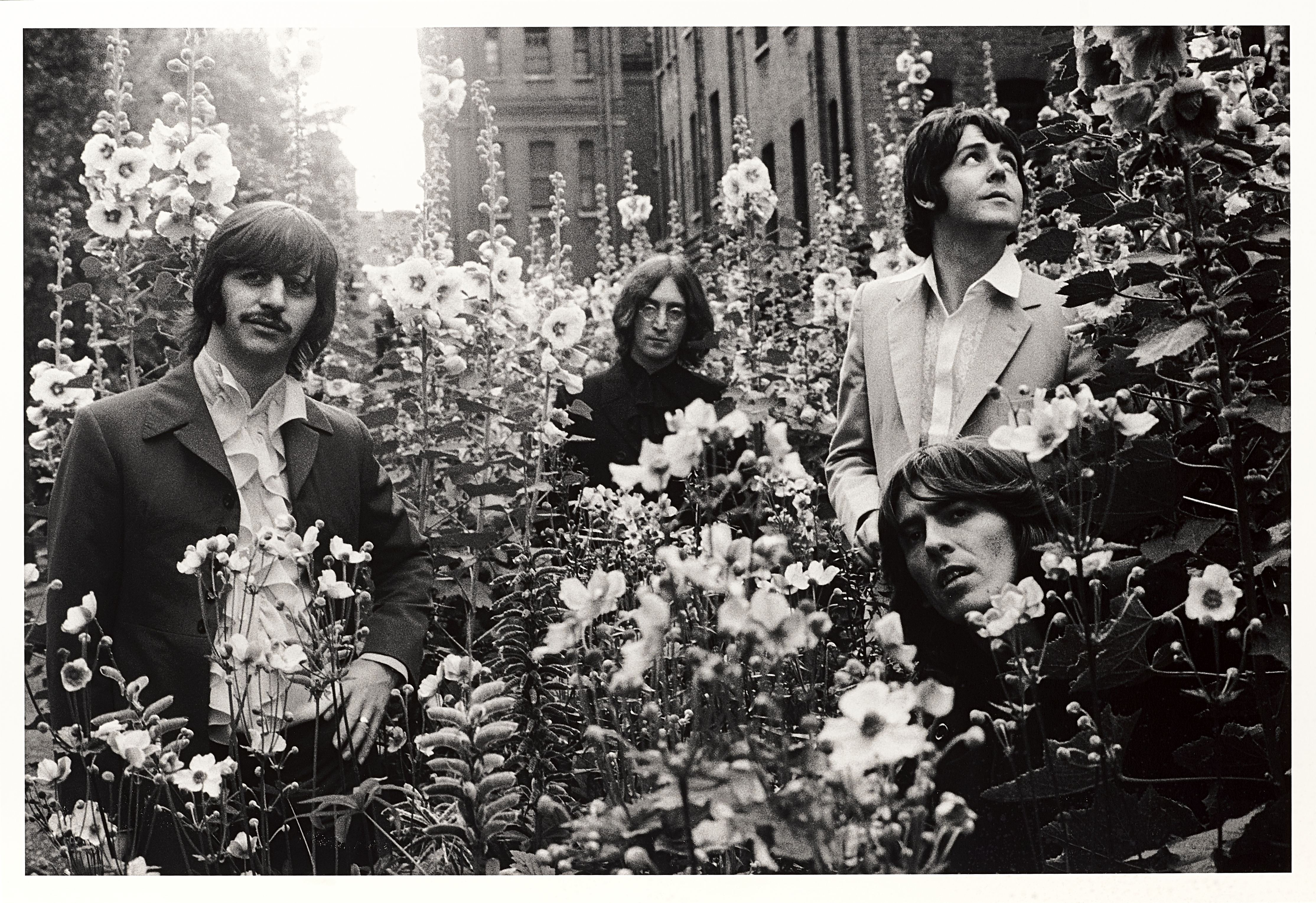 Lot 14 - A Limited Edition Photograph Of The Beatles By Tom Murray (American, born 1943) From The 'Mad Day...
