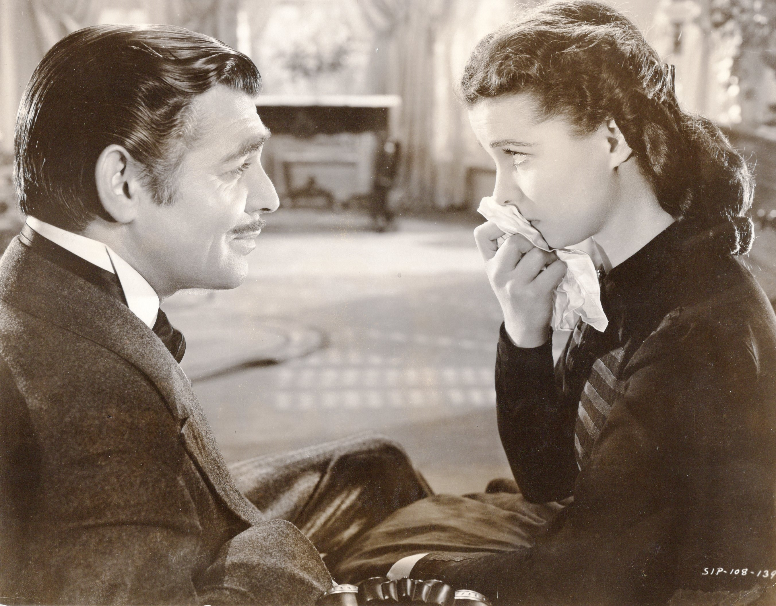Lot 1044 - A Clark Gable collar from Gone With the Wind