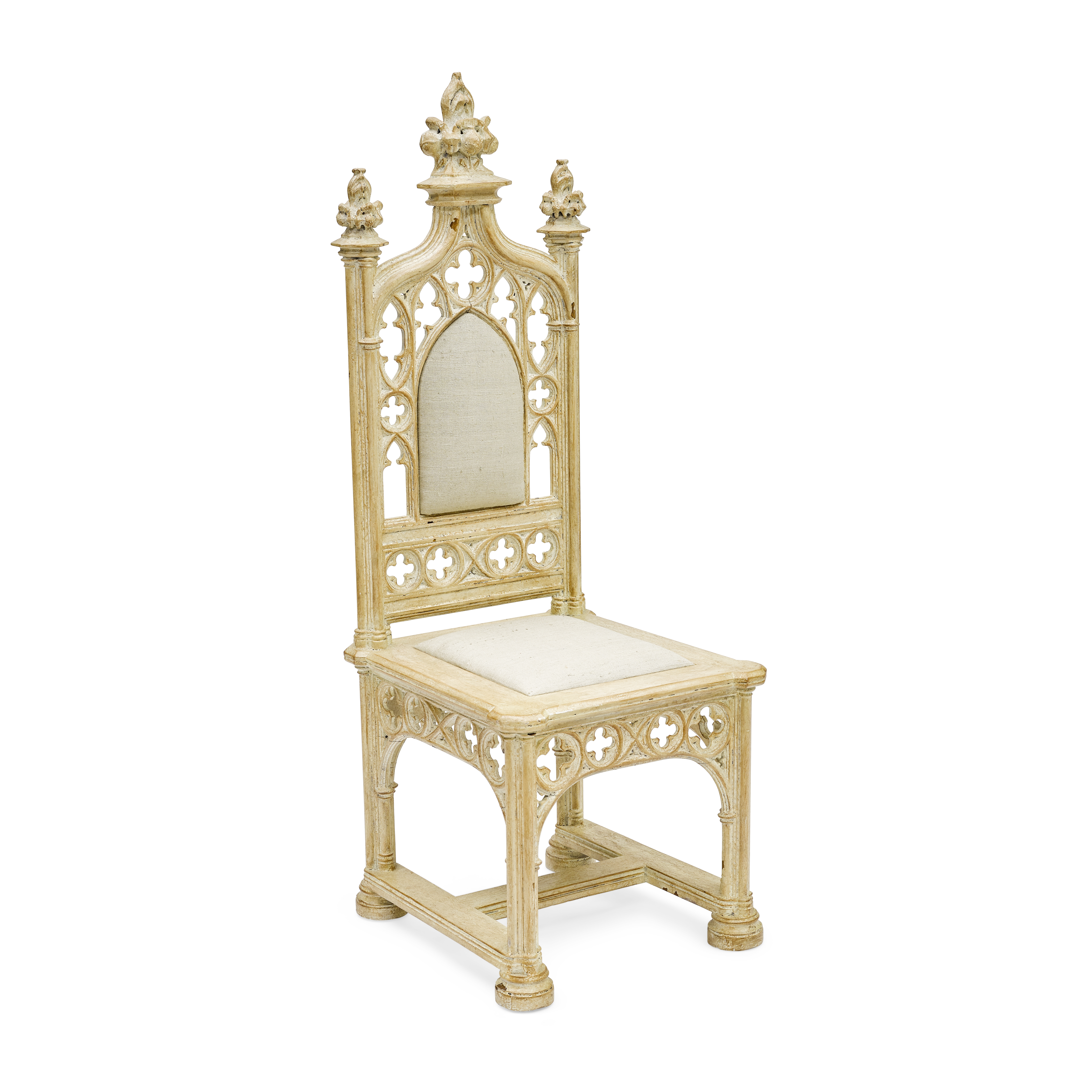 Lot 1053 - A Gone With the Wind chair from Scarlett's Atlanta mansion