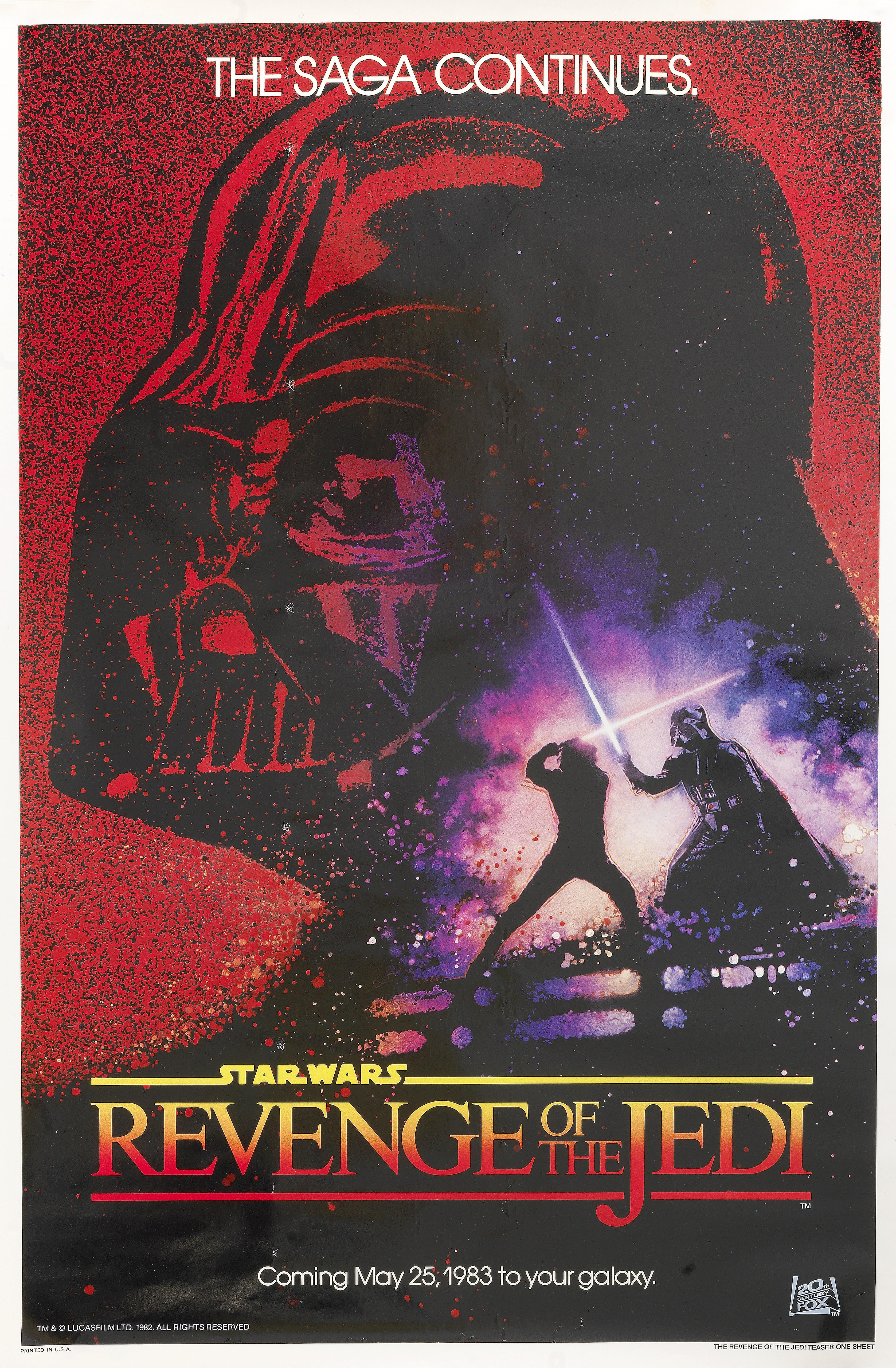 Lot 35 - Revenge of the Jedi, Lucasfilm, 1983,
