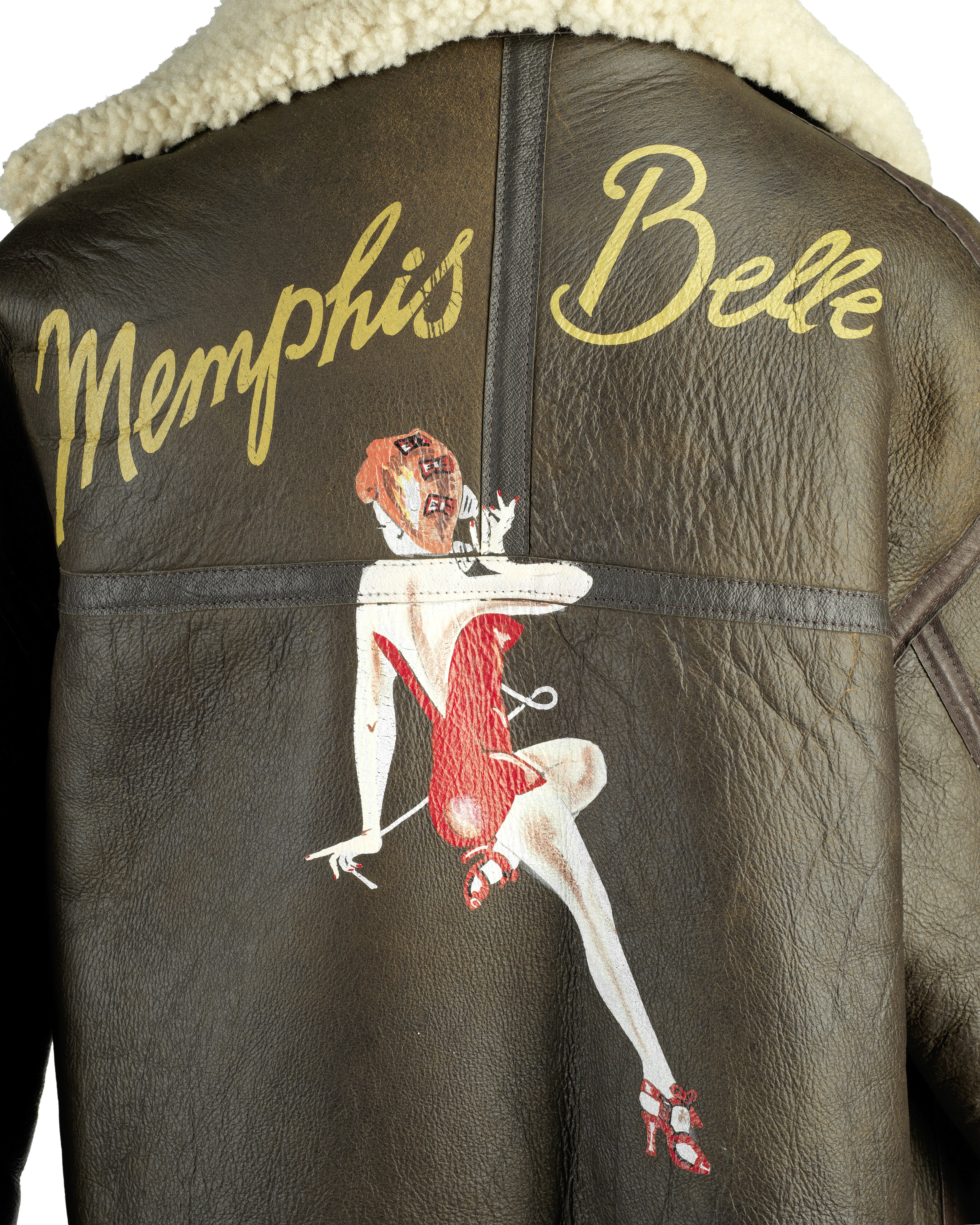 Lot 20 - Memphis Belle: A flying jacket made for the production, Warner Bros., 1990,
