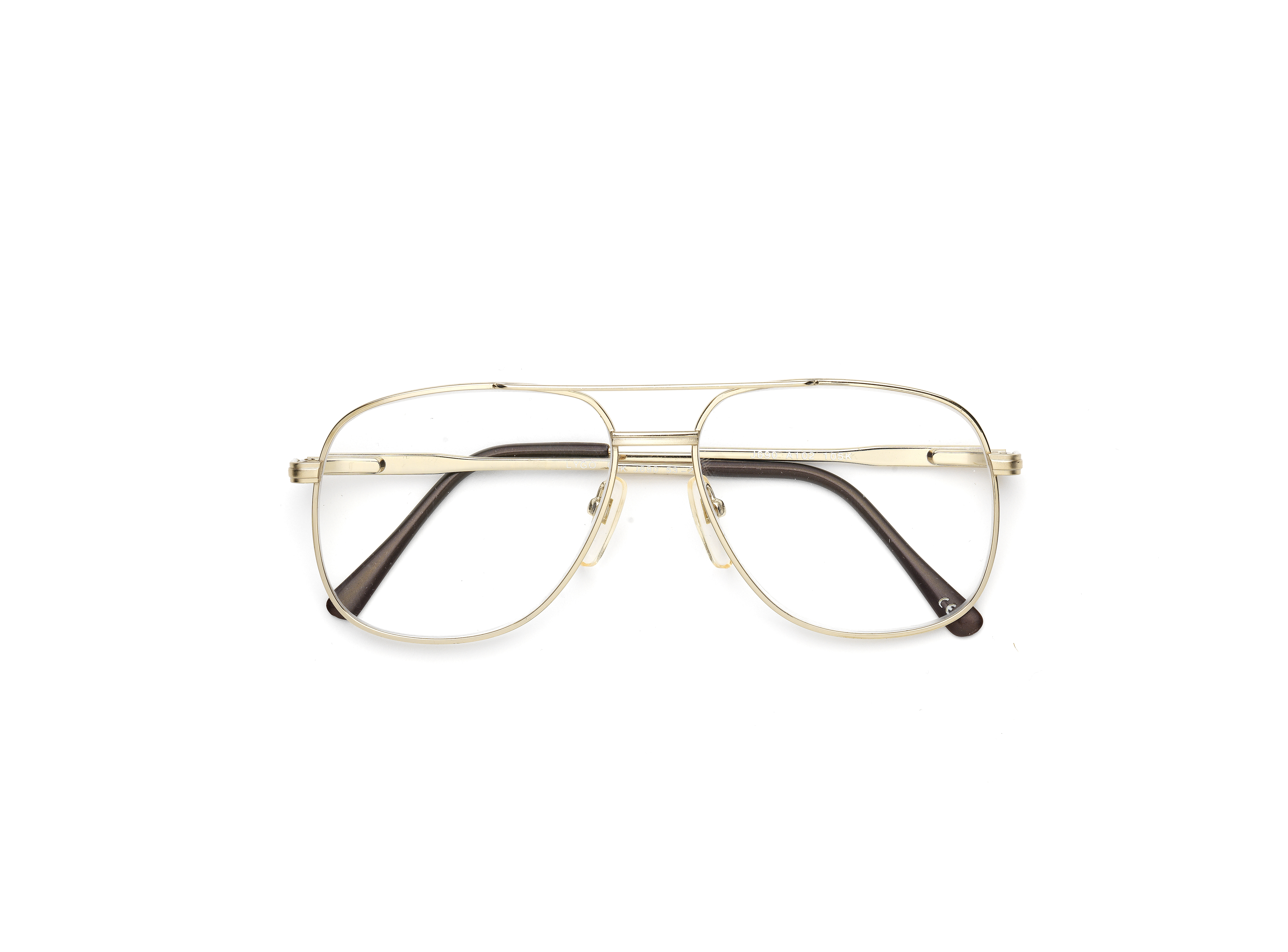 Lot 24 - Brad Pitt: A pair of clear reading glasses worn by Brad Pitt for his role as 'Glen McMahon' in Wa...