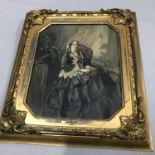 Lot 672 - Original painting of Isabella Katharina Dennistoun eldest daughter of the Honourable James Wolfe