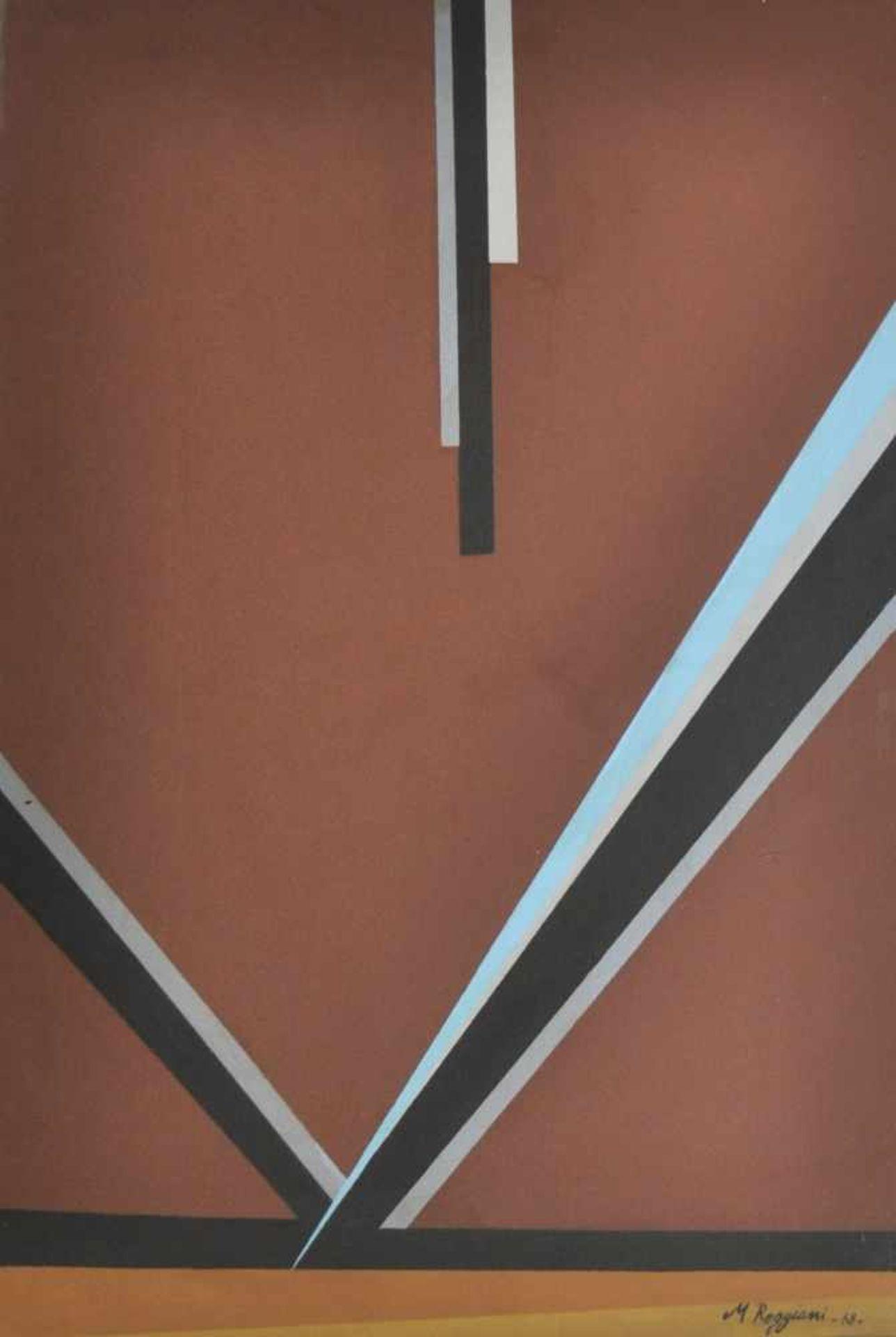 Mauro Reggiani (Nonantola 1897 – Mailand/Milano 1980)Composizione n. 22, 1968;Acryl auf Leinwand, 70